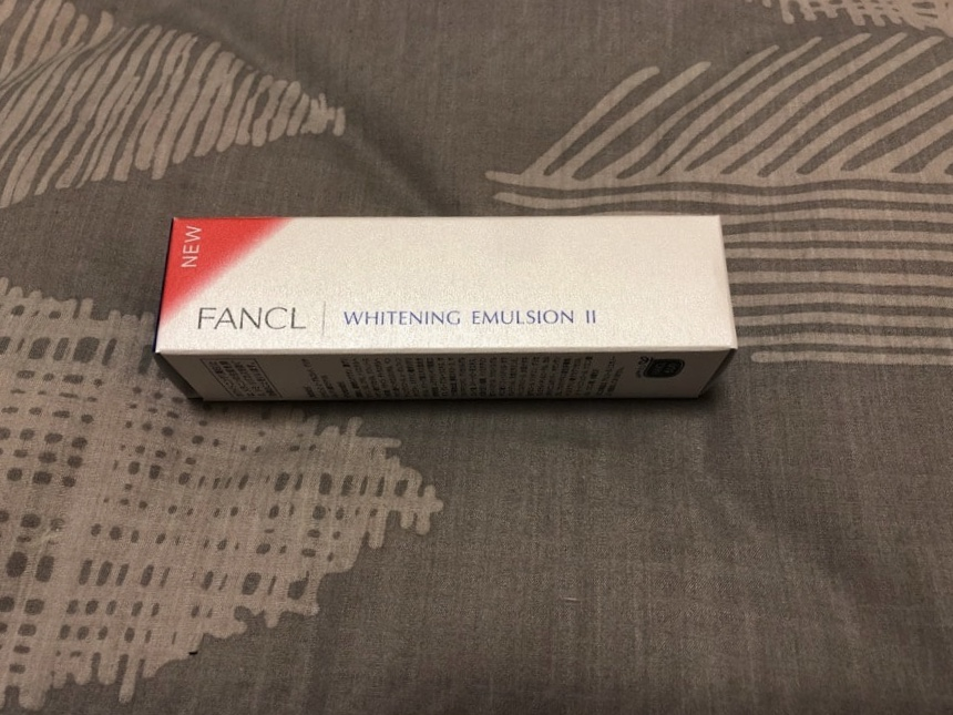 FANCL WHITENING LOTION II使用感